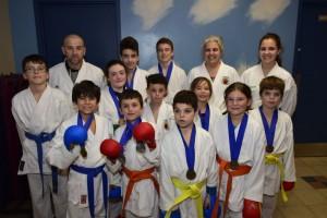 Karaté - Plusieurs médailles aux compétitions provinciales