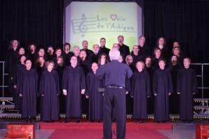 Les Voix de l'Achigan pour l'église