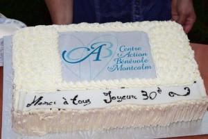 Grand départ du 30e Anniversaire du Centre d'Action bénévole Montcalm