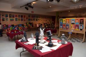 Expositions des oeuvres à Havre-Jeunesse