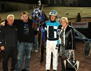 René Allard, plus jeune entraîneur à gagner 3000 courses, poursuit sur sa lancée