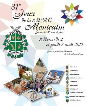 2 et 3 août prochain - 31e Jeux de la MRC de Montcalm, à Saint-Esprit