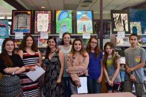 Exposition des élèves de Havre-Jeunesse - Profil Arts et Société