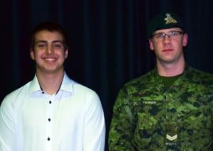 Antoine fait découvrir l'Armée canadienne