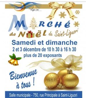 2 et 3 décembre : Marché de Noël à Saint-Liguori