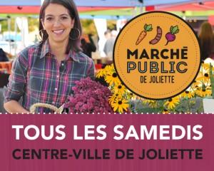 Marché public de Joliette — Début d'une belle et longue édition!